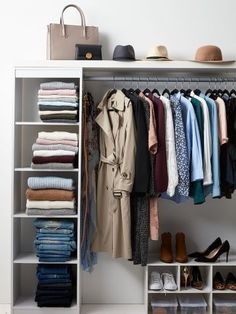 Organize your closet and get the best looks for spring.