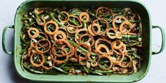 Green Bean and Mushroom Casserole with Crispy Fried Onions recipe | Epicurious.com