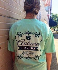 Auburn University Tigers Flora Crew T-Shirt (SKU WOMEN'S TEBD515151  11829430)