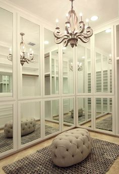 All in the Details: Glam Closet Door Ideas