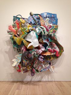 Frank Stella: A Retrospective, which opened yesterday at the Whitney Museum of American Art, is a brilliantly curated, blatantly overhung masterstroke of an exhibition that turns the artist's weaknesses into strengths and his strengths into powerhouses. Sculpture Painting, Abstract Sculpture, Abstract Art, Abstract Portrait, Portrait Paintings, Abstract Paintings, Art Paintings, Contemporary Sculpture, Contemporary Artists