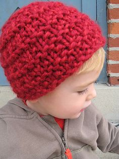 "Ravelry: Bev's Super Simple ""Kid Lid"" Hat pattern by Edgebrook Covenant Church"