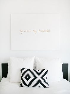 sugar and cloth artwork - you are my bucket list
