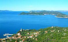 Walking / hiking Lopud island, Croatia