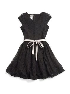 GUESS Kids Girls Lace Dress with Tie « Clothing Impulse