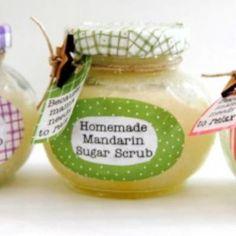 14 Easy Homemade Sugar Scrubs {Recipes}