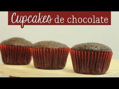 Cómo hacer Cupcakes de Chocolate [ Mini serie de Repostería EP 1 ] - YouTube