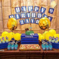 Fortnite Banner Party Birthday Ideas