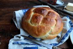 Challah - Chuť od Naty Chuť od Naty: Blog o chutnom jedle a kvalitnom živote Challah, Nutella, Banana Bread, Hamburger, Foods, Blog, Bread Puddings, Sicilian Food, Cinnamon Bread