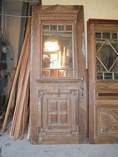 Here are some new mirrors, I had acquired some absolutely stunning victorian entry doors, was at a loss how to use them, other than taking them apart for the frags. Kind of sad to think how many of these old doors just went to the dump. Bryan Appleton Designs