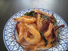Wandering Chopsticks: Vietnamese Food, Recipes, and More: Tom Rang Muoi (Vietnamese Fried Shrimp with Salt)