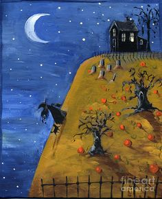 Witch Hill Painting