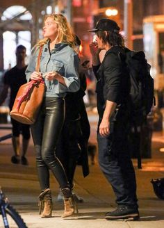 Exclusive... Norman Reedus Out With Mystery Woman In NYC