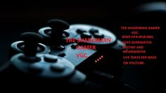 THE SHADESMAN GAMER PRESENTS WWE.FIFA.MLB.NBA.GOLF.OVERWATCH.DESTINY AND...