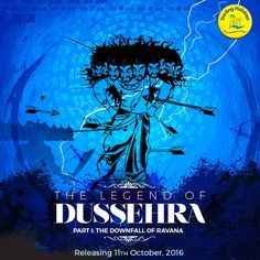 Relive the biggest blockbuster! Dussehra is not just a festival in India. It is a legend with many versions and many endings, but always the same moral: good triumphs over evil. A testament to this is the story of Lord Rama's victory over the demon King Ravana. Till this day, effigies of Ravana are burnt to keep the flame of 'Good' alive in us all.  #HappyDusshera Explore holidays on our website.