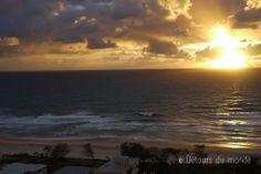 Sunrise from the balcony of the amazing QT Gold Coast, #Queensland #Australia