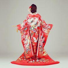 * 《和装前撮り(衣装)》 * 私は結婚式ではドレスしか着ない予定だったので 和装姿も残したいと思い前撮りを行いました♪ * 衣装は色内掛け。 華やかでいいなあと思っていたので色内掛けに。 朱色っぽいような赤で鶴とお花が描かれています。 * お借りしたスタジオさんでは着物によってランクがあり、高ければ高いほど質の良い衣装になっていて価格とデザインは比例しているように感じました。 私は基本の着物から少しランクを上げましたが>< 気に入ったもので撮れて良かったと思います♡ * #wedding #love #ウエディング#ウェディング#結婚式 #結婚 #ブライダル #花嫁 #flower #お花#日本中のプレ花嫁さんと繋がりたい#卒花さんと繋がりたい#ウェディングニュース#ハナコレストーリー#ハナコレ#marry #marry花嫁##marry本 #marry花嫁図鑑#前撮り #和装前撮り #和装#和装ヘア #juno4u #my前撮り