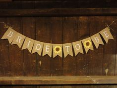 Bride to be Banner Bride to be bunting by IchabodsImagination, $24.00