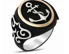India anillo anillo de hombre indígena Sterling por TimeToJewelry