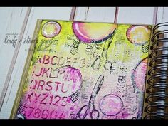 Drop Dead Diva Art Journal | Lindy's Stamp Gang