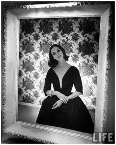 Evening dress designed by a California designer Hollywood 1952 Photo Gordon Parks
