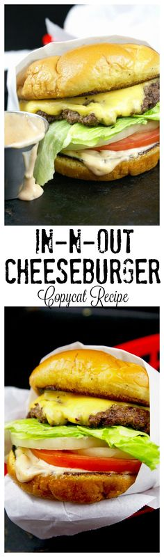 GreatThis Copycat In-N-Out burger is absolutely delicious, you will make this again and again! The post This Copycat In-N-Out burger is absolutely delicious, you will make this again a… appeared first on Recipes 2019 . In And Out Burger, Biscuits, Good Food, Yummy Food, Delicious Dinner Recipes, Beef Dishes, Ground Beef Recipes, Hamburger Recipes, Gastronomia