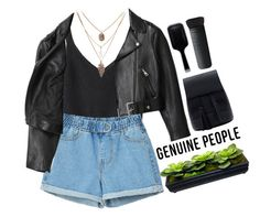 """# Genuine People"" by credentovideos ❤ liked on Polyvore featuring Acne Studios, GHD and NARS Cosmetics"