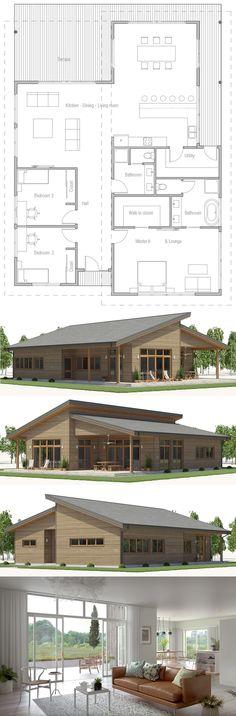 Plan de Maison, Maison, Architecture #plandemaison #maison #architecture #projetdemaison