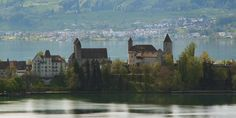 Castle and Church Rapperswil Monument Valley, New York Skyline, Castle, World, Nature, Travel, Naturaleza, Viajes, Trips