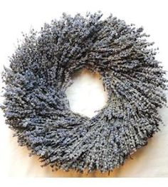 Round Shaped Lavender Wreath This beautiful lavender wreath will be a hit wherever you put it. Try it on a door, wall, hallway, etc. You will love this wreath and the natural beauty it brings to your decorative space. Plus it's deliciously aromatic! Great for spring and summer decor, weddings, parties and gifts. #lavender #wreathsforsale #frenchlavender #countrydecorating #summerdecor #summerwedding #homedecor #weddingideas