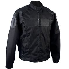 Save $ 25.51 order now Hot Leathers #47 Nylon and Leather Motorcycle Jacket with