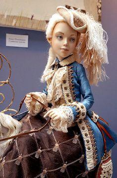 """Международная выставка кукол """"Art of Doll"""" в Гостином дворе. 13.12.2014."""