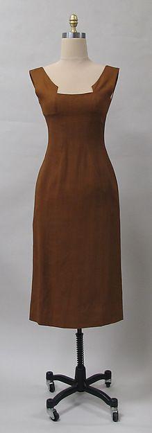 Charles James, 1954, linen