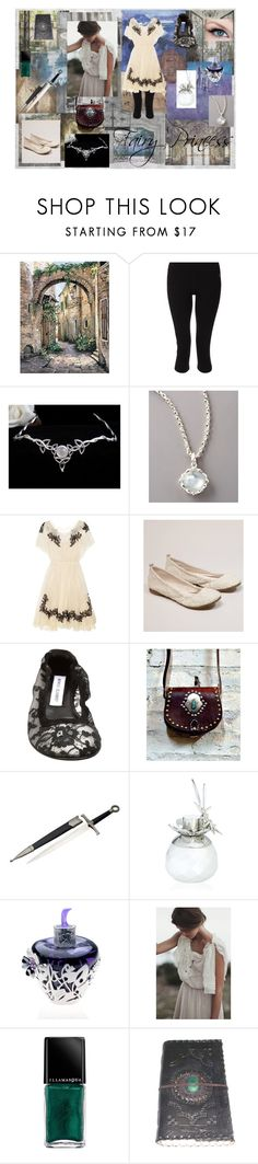 """Fairy Princess"" by nellethiel ❤ liked on Polyvore featuring Hawkwood, Disney, Zumba, Stephen Webster, Valentino, American Eagle Outfitters, Manolo Blahnik, Van Cleef & Arpels, Lolita+Lempicka and LULU IN CHAINS"