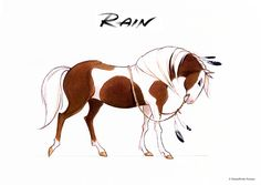 AnatoRef — Spirit and Rain by Carlos Grangel Spirit The Horse, Spirit And Rain, Horse Drawings, Animal Drawings, Caballo Spirit, Spirit Drawing, Arte Equina, Disney Horses, Horse Movies