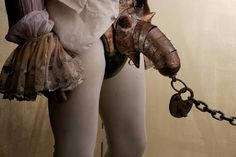 codpiece- Because look... it is Diana's chain to Matthew LOL