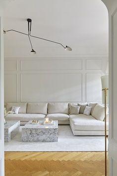 Apartment Interior, Home Living Room, Interior Design Living Room, Living Room Designs, Living Room Decor, Bedroom Decor, Bedroom Rustic, Minimalist Home Interior, Minimalist Decor