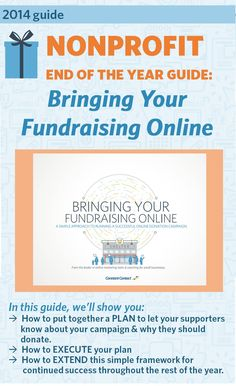 2014 [Guide] Bringing Your Fundraising Online