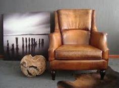 Bruine Leren Stoel : 9 beste afbeeldingen van lederen fauteuil armchairs chairs en