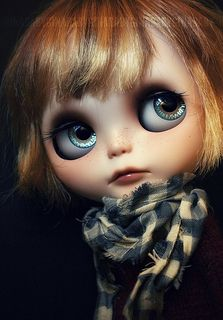 Another lovely GBaby Blythe  I think she might be my favorite customizer!
