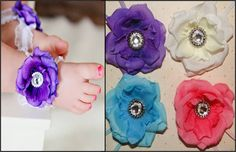 Barefoot Baby Sandals OMG!  These are adorable!  I want, I want!