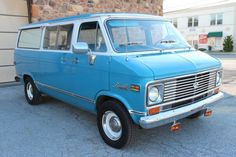 1972 Chevy Beauville van with 396 SS power