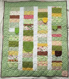 Troll princess quilt finished! by syko Kajsa, via Flickr