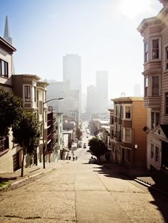 San Francisco my favorite city. Baie De San Francisco, San Francisco California, California Dreamin', Oh The Places You'll Go, Places To Travel, Travel Destinations, Places To Visit, Lac Tahoe, Beautiful World