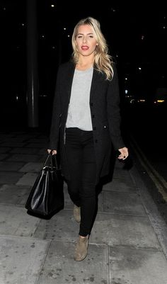 Mollie King - The Saturdays Leave the Google+ Game Show.