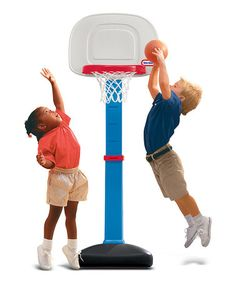 Love this TotSports Easy Score Basketball Set on #zulily! #zulilyfinds