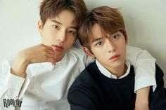Jung Woo and Lucas #NCT
