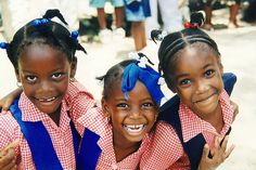 School children in JA are known for their smart appearance.