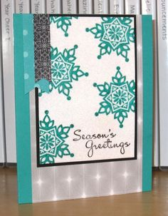 Season's Greetings by Christy S. - Cards and Paper Crafts at Splitcoaststampers