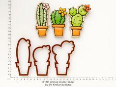 Bekijk dit items in mijn Etsy shop https://www.etsy.com/nl/listing/192105123/cactus-cookie-cutter-set